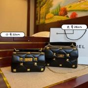Valentino leather chain stud bag  #99904582
