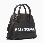 Balenciaga VILLE classic multicoloured cowhide bag for women handbag shoulder shell bag #9124101