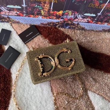 D&G original gold Shoulder Bag #9125936