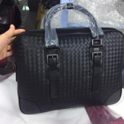 Bottega Veneta Men's handbags leather business leisure 2020 men's briefcase #99117048