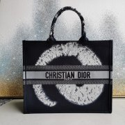 New Dior AAA+ Handbag Dior Saddle Women Book Tote canvas tote embroidered shopping tote bag #99116983
