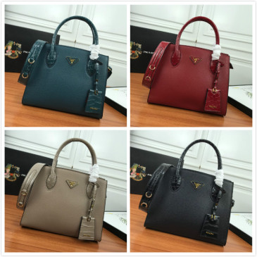 Prada Handbags calfskin leather bags #9873930