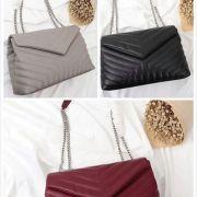 Luxury YSL Classic Bags V Shape Flaps Chain Bag Designer Handbags High Quality Women Shoulder handbag Clutch Tote Messenger Shopping Purse With Logo #9874183