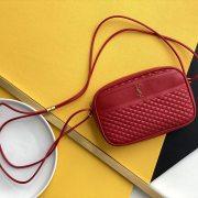 YSL SAINT LAURENT leathery shoulder bag AAAA original highQuality #99902701