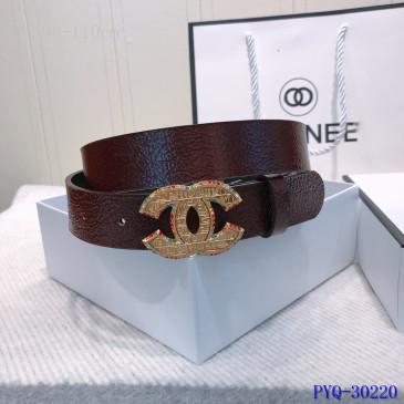 Chanel AAA+ sheepskin Leather Belts #9129347