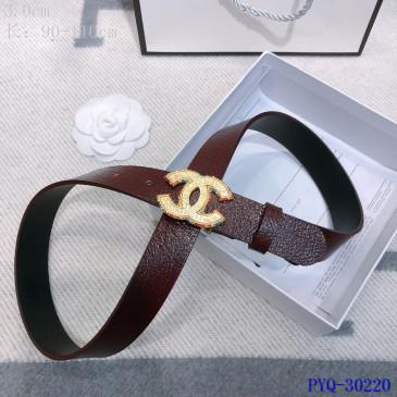 Chanel AAA+ sheepskin Leather Belts #9129348