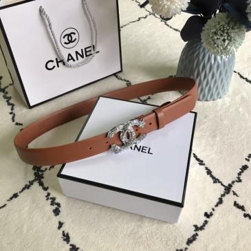 Women Chanel AAA+ Belts 3.0CM #99905606