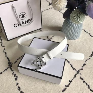 Women Chanel AAA+ Belts 3.0CM #99905608