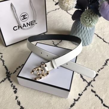 Women Chanel AAA+ Belts 3.0CM #99905609