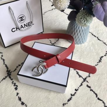 Women Chanel AAA+ Belts 3.0CM #99905610