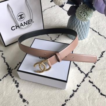 Women Chanel AAA+ Belts 3.0CM #99905613