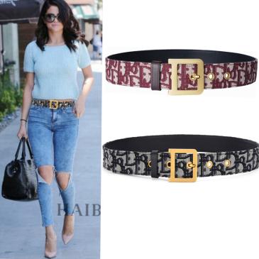 Dior AAA+ belts Diorquake belt for Women W3.5cm #99116813