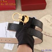 Ferragamo AAA+ Leather Belts W3.5cm #9129606