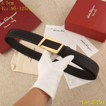 Ferragamo AAA+ Leather Belts W3.5cm #9129608