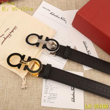 Ferragamo AAA+ Leather reversible Belts W3.5cm #9129595