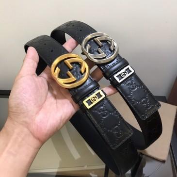Gucci AAA+ Leather Belts W3.8cm #99116471