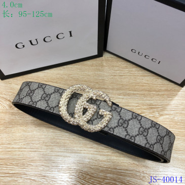 Gucci AAA+ Leather Belts W4cm #9129905