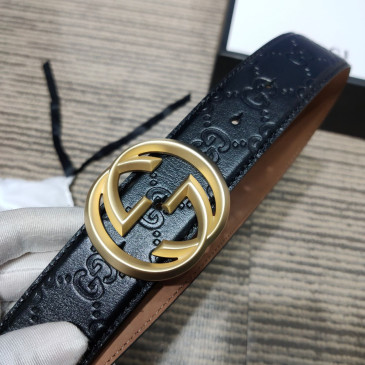 Gucci AAA+ Leather Belts W4cm #9129906