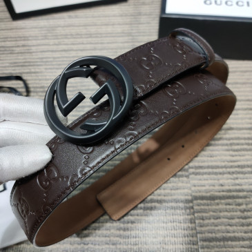 Gucci AAA+ Leather Belts W4cm #9129907