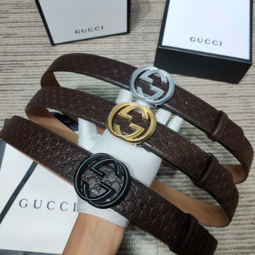 Gucci AAA+ Leather Belts W4cm #9129911
