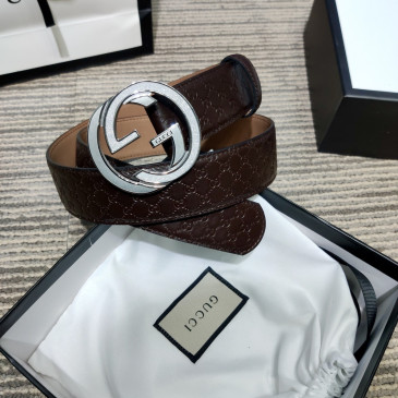 Gucci AAA+ Leather Belts W4cm #9129919