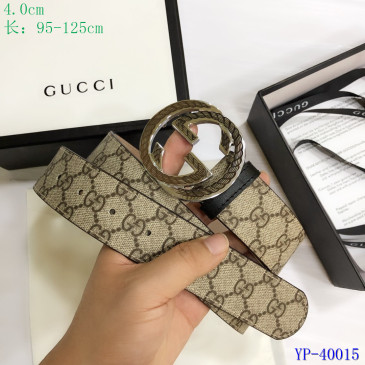 Gucci AAA+ Leather Belts for Men W4cm #9129900