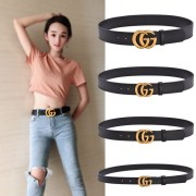 Women's Gucci 1:1 leather Belts 2-7cm #9126733