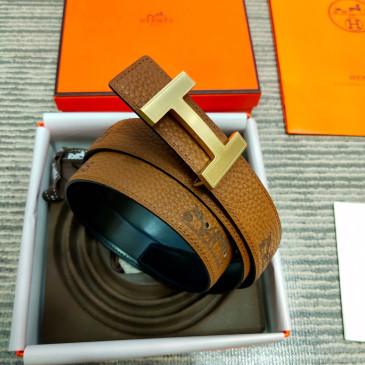 HERMES AAA+ Leather Belts W3.2cm #9129547