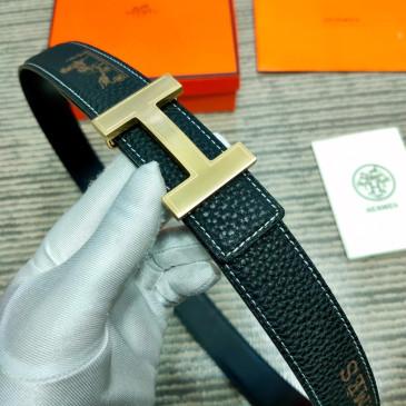 HERMES AAA+ Leather Belts W3.2cm #9129548