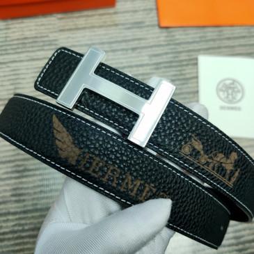 HERMES AAA+ Leather Belts W3.2cm #9129549