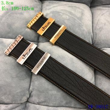 HERMES AAA+ Leather Belts W3.8cm #9129505