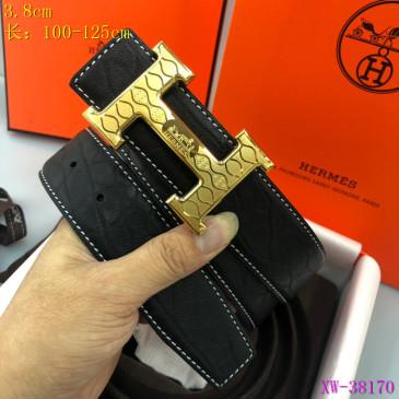 HERMES AAA+ Leather Belts W3.8cm #9129507