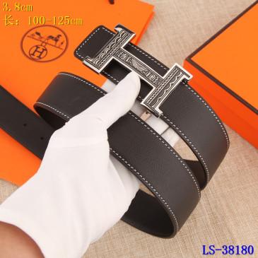 HERMES AAA+ Leather Belts W3.8cm #9129510