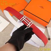 HERMES AAA+ Leather reversible Belts W3.2cm #9129543