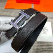 HERMES AAA+ reversible Leather Belts W3.2cm for women #9129511
