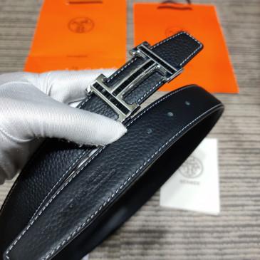 HERMES AAA+ reversible Leather Belts W3.2cm for women #9129514