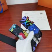 2020 Louis Vuitton AAA+ Leather Belts W4cm (5 colors) #9873555
