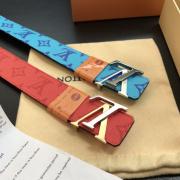 2020 Louis Vuitton AAA+ Leather reversible Belts W3.8cm #9873566