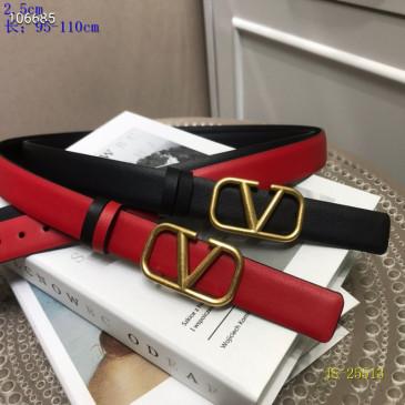 Valentino AAA+ Belts 2.5CM #99899923