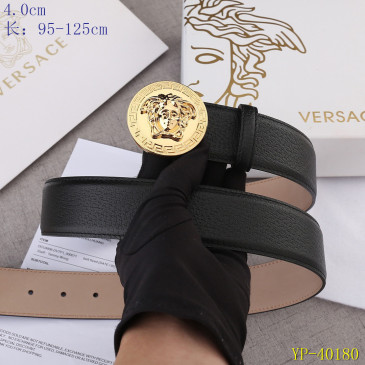 Versace AAA+ Leather Belts 4cm #9129430