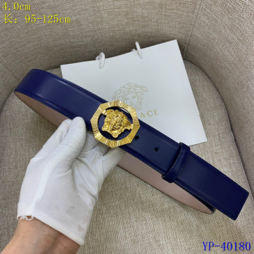 Versace AAA+ Leather Belts 4cm #9129432