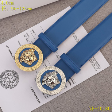 Versace AAA+ Leather Belts 4cm #9129435