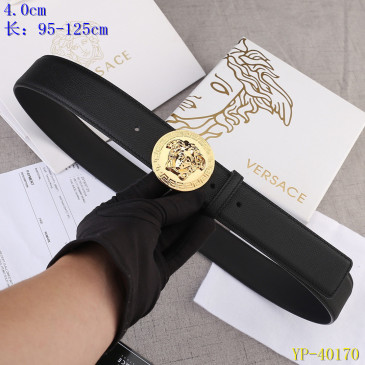 Versace AAA+ Leather Belts 4cm #9129449