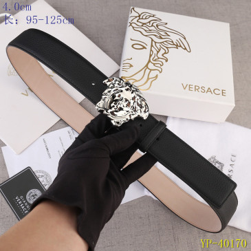 Versace AAA+ Leather Belts 4cm #9129451