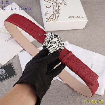 Versace AAA+ Leather Belts 4cm #9129452