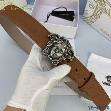 Versace AAA+ Leather Belts 4cm #9129455