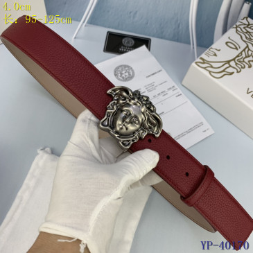 Versace AAA+ Leather Belts 4cm #9129456