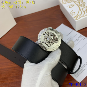 Versace AAA+ Leather reversible Belts 4cm #9129437