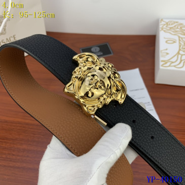 Versace AAA+ Leather reversible Belts 4cm #9129438