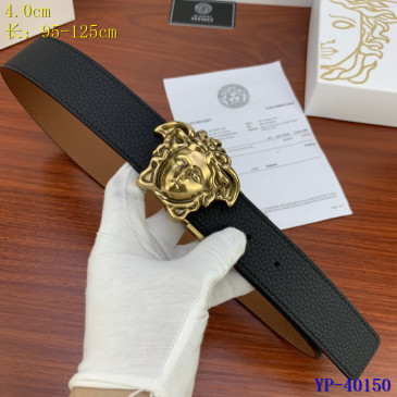 Versace AAA+ Leather reversible Belts 4cm #9129439
